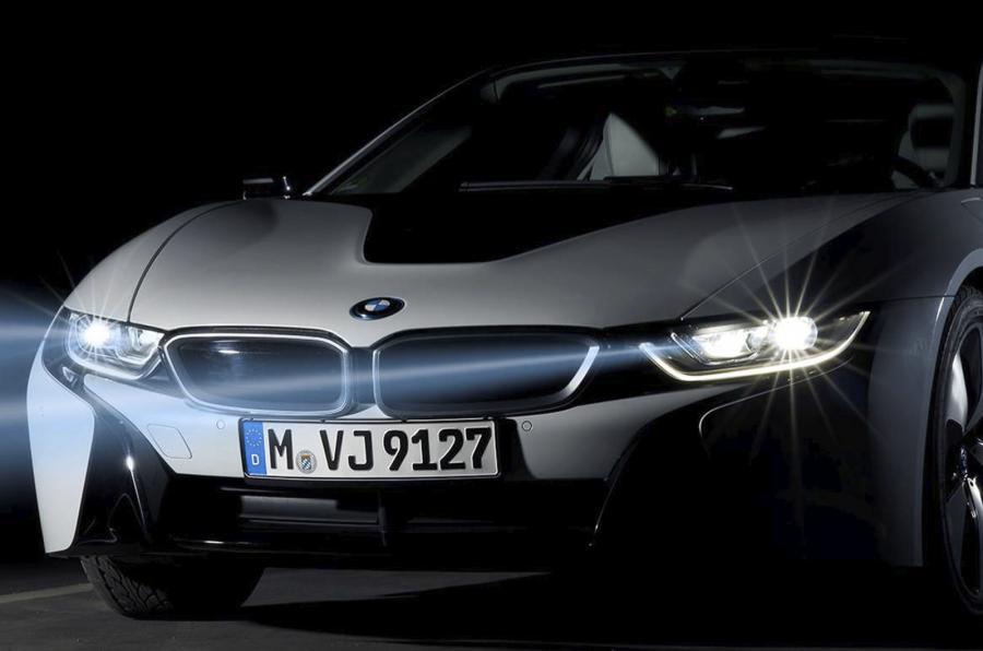 лазерни фарове на коли