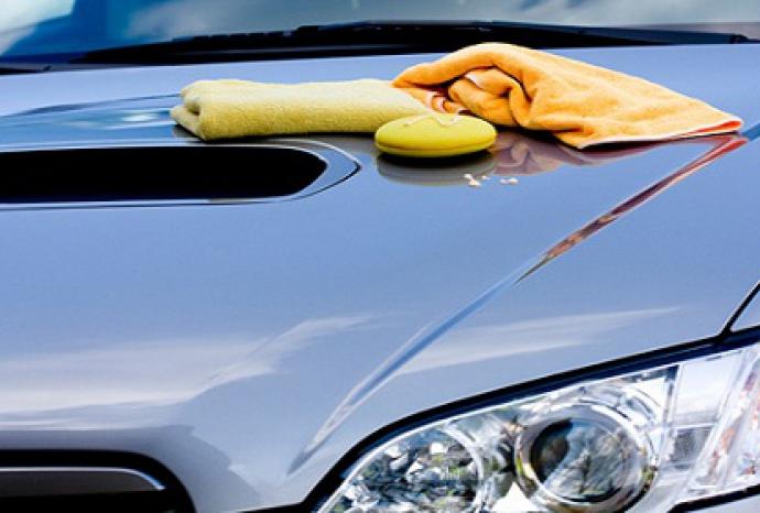 подсушаване на автомобила