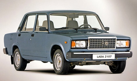 класация Lada 2107