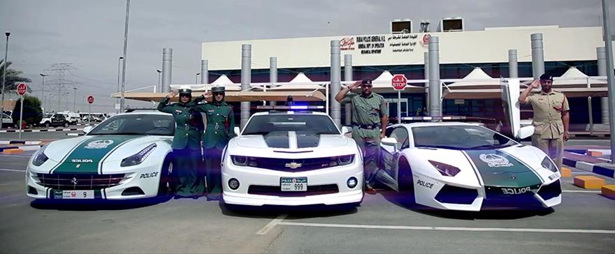 скъпи полицейски коли